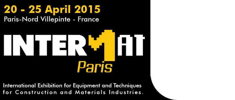 Intermat Paris 2015